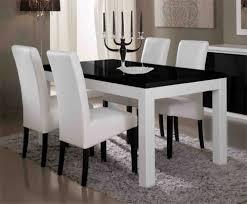 Table De Repas Firenze Blancnoirl 160 X H 76 X P 90