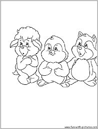 Care Bear Cousins Coloring Pages - Free Printable Colouring Pages ...