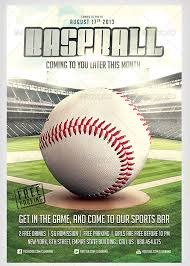 Free Baseball Flyer Template 52 Baseball Flyer Templates Free Premium Psd Vector Ai