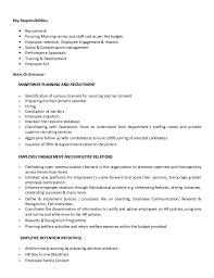 Gallery Of Resume Hr Generalist Eligibility Specialist Resume