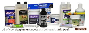 Digestive Supplement Comparison Chart Horse Supplement