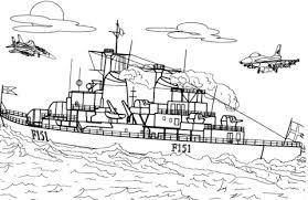 Deens Fregat Kleurplaat Gratis Kleurplaten Printen