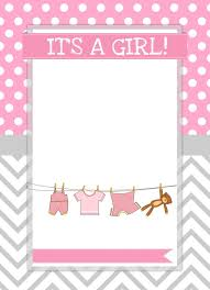 baby shower invitations free templates girl baby shower invitations templates ba shower invitations for