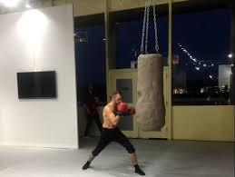 Art Bag Nyc Boxing With Szilard Gaspar By Alexandra Hammond Performance Is Alive