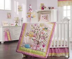image of owl baby quilt theme