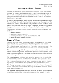 format of an academic essay co format