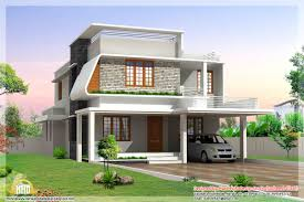 beautiful modern home elevations kerala design floor plans dma