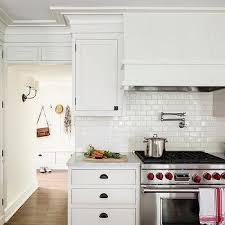 modern white kitchen backsplash tile image of idea design for 13 glazed residence with decoration 8