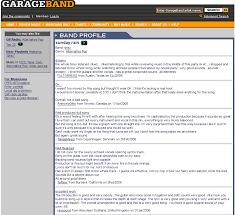 Example Of A Html Front Page And B Review Information