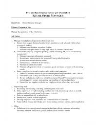 resume manager responsibilities resume printable of manager responsibilities resume full size