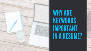 Why Are Keywords Important In A Resume Board Infinity