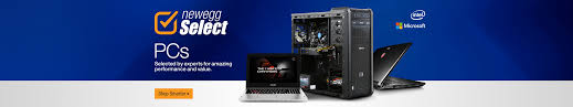 power up your creations newegg select pcs