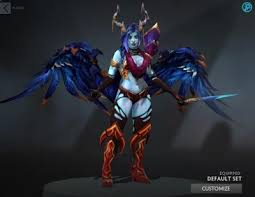 queen of pain raiments of twilight shade dota 2 mods