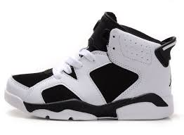 jordan shoes for girls black and white. children air jordan 6 white black grey shoes for girls and r