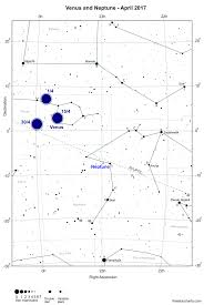 April 2017 Star Chart The Planets This Month April 2017 Freestarcharts Com
