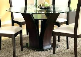 glass table top kitchen table modern glass dining room sets dinning round glass dining table top