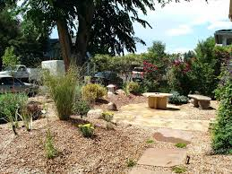 Xeriscape Front Yard Landscaping Backyard Out Front Yard The Home  Improvement Xeriscape Front Yard Photos