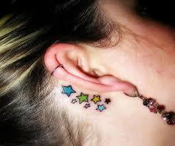Tetování Za Ucho Výběr Moderních Módních Návrhářů