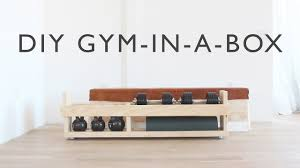 gym furniture. DIY Home Gym In A Box -- Full Instructions Coming Soon To HomeMade-Modern Furniture