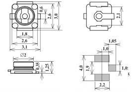 ВЧ <b>разъем</b> U.FL Высокочастотный Pigtail с коаксиальным кабелем