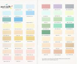British Paints Presents Acrylic Distemper Shade Card To