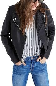 madewell washed leather moto jacket true black leather moto jackets fall 2017