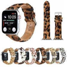 Dây Đeo Da Ngựa Cho Đồng Hồ Thông Minh Apple Watch 6 5 4 3 2 1 38 / 40mm 42  / 44mm chính hãng