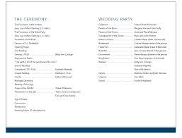 sample wedding program wording best photos of sample wedding programs sample wedding programs