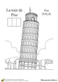 Coloriage De Monument Italien L L