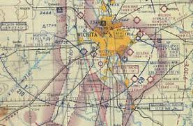 Sectional Chart Details About Wichita Sectional Aeronautical Chart 1963 East Half