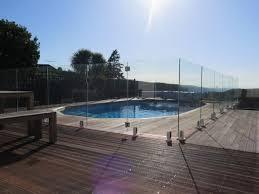 glass pool fencing glass pool