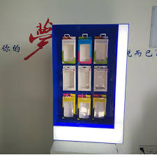Cell Phone Vending Machine Enchanting China Acrylic Floor Cell Phone Accessory Display Stands From