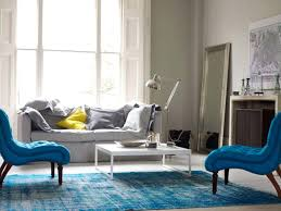 blue rug living room contemporary aquatic living room design with blue sofa blue rug image
