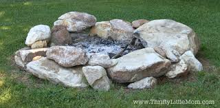 building a backyard firepit for free