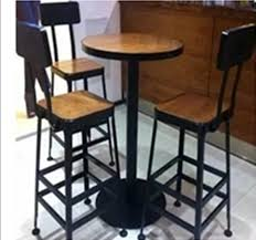 deck wrought iron table. Starbucks Cafe Tables Highchairs Deck Lounge Chairs Wrought Iron Wood  Roundtable Restaurant Wrought Table
