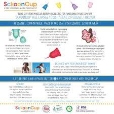 Menstrual Cup Sckooncup Soft Reusable Menstrual Cup Made In Usa