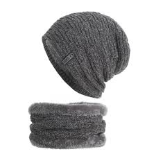 Beanie Custom Design Wholesale Custom Design High Quality Winter And Autumn Thicken Caps Men Soft Warm Hat Scarf Set With Cloth Logo Beanies For Girls Baby Hat From