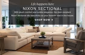 nixon sectional now living room