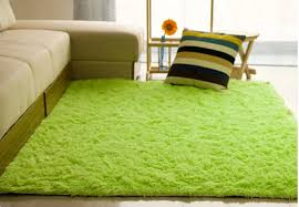 48x32 inch modern soft fluffy floor rug anti skid gy area rug bedroom dining room carpet yoga mat child play mat light green com