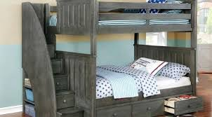 Bunk bed with stairs and slide Three Full Over Bunk Bed With Staircase Drawer Storage Cool Beds Slide And Swing Introducing Weathered Qualitymatters Full Over Bunk Bed With Staircase Drawer Storage Cool Beds Slide