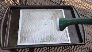 How To Clean A Greasy Range Hood And Filter Amazing By Home