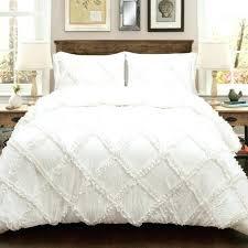 ruffled white comforter white ruffle diamond comforter set 3 pieces ruffle white comforter set white ruffle