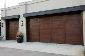 sliding garage doorsDecorations  Barn Side Sliding Garage Doors With Classic Brown