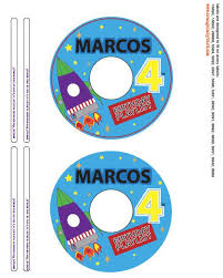 Avery 8942 Out Of The This World Custom Cd Dvd Label