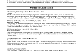 teachers resumes examples resume good resume template amazing resume examples for teachers