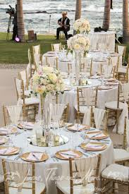 Cabo Destination Wedding design and decor at the Fiesta Americana Linens,  Things and More  Blush Gold WeddingsWhite ...
