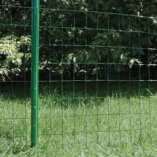 3 ft green 14 gauge steel u fence post