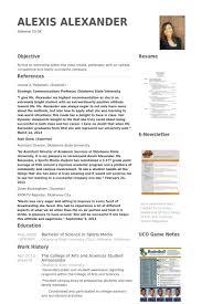 Mba Resume Samples VisualCV Resume Samples Database Classy Mba Resume
