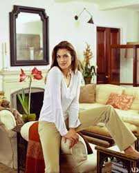 Cindy Crawford Home Cindy Crawfords Understated Art Filled Office Architectural Digest