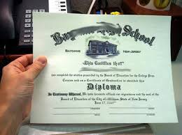 fake diploma from your scan com  high school diploma sample